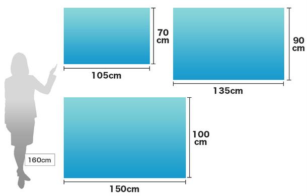 旗のサイズイメージ